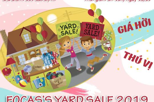 Focas's Yard Sale 2019 – Trao đổi đồ cũ, bán hàng thanh lý