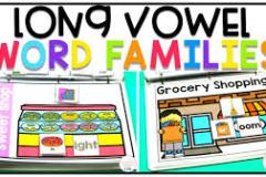 Tổng hợp các thẻ từ ghép Nguyên âm dài Long Vowel